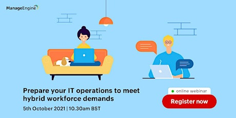 Preparing your IT to meet the demands of the hybrid workforce. tickets
