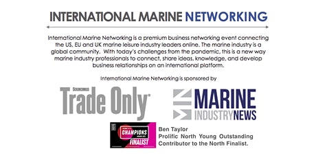 International Marine Networking - Hosted by Ben Taylor tickets