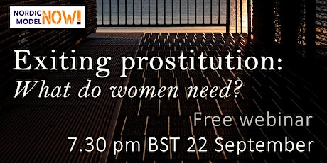 Exiting prostitution: what do women need? tickets