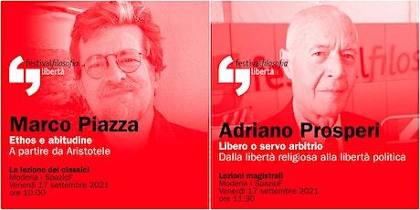 ff21 | PIAZZA - PROSPERI | Modena, SpazioF biglietti
