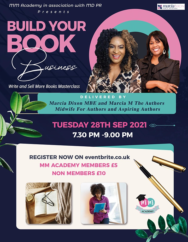 Build Your Book Business. Write and sell more books Masterclass image
