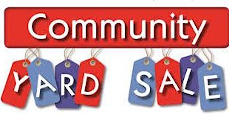 FALL 2021 North Laurel Community Center YARD SALE!! tickets