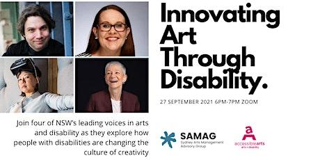 Innovating Art Through Disability tickets