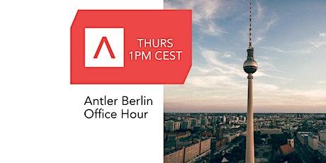 Antler Berlin Office Hours tickets