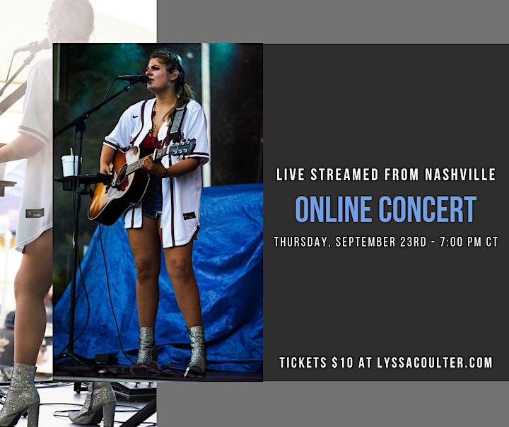 Lyssa Coulter LIVE  (Online Concert) image