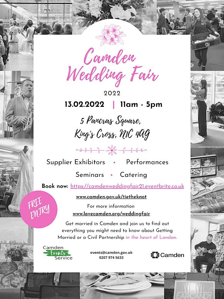 Camden Wedding Fair 2021 image