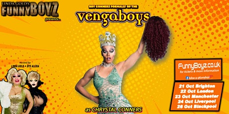 FunnyBoyz Manchester presents Roy Conners formally of VENGABOYS tickets