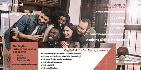 Info session: Digital Entrepreneurship Bootcamp #3 tickets