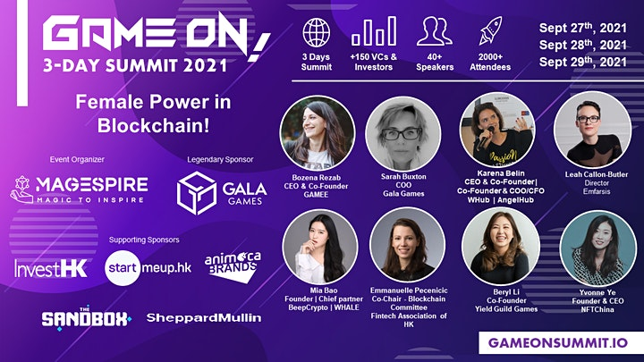 MaGESpire Presents: Game On! Summit 2021 image