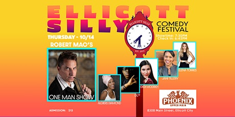 """Ellicott Silly Comedy Festival presents """"Robert Mac's One Man Show""""! tickets"""