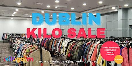 Dublin Kilo Sale Pop Up 18th September tickets