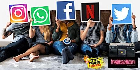 21 octobre - Pourquoi utiliser l'écoute sociale pour votre marque ? tickets