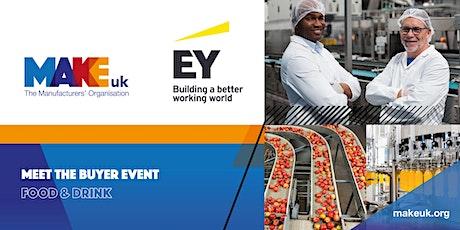 Make UK Meet the Buyer – Food & Drink Supply Chain biglietti