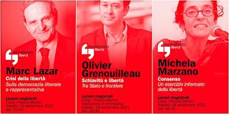 ff21 | LAZAR - GRENOUILLEAU - MARZANO | Carpi, Piazza Martiri biglietti