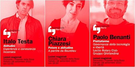 ff21 | TESTA - PIAZZESI - BENANTI | Sassuolo, Piazzale della Rosa biglietti