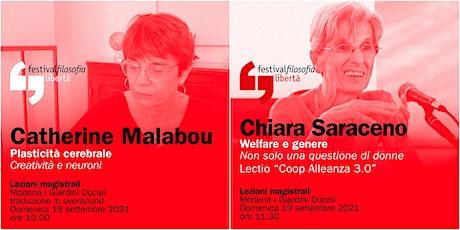 ff21 | MALABOU - SARACENO | Modena, Giardini Ducali biglietti