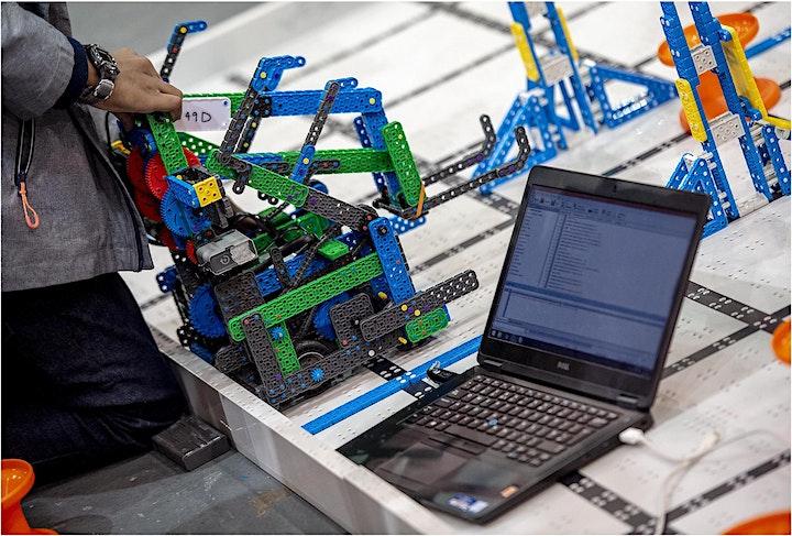 Image pour Une classe découverte du Cours hebdomadaires de Robotique | 11-14 ans