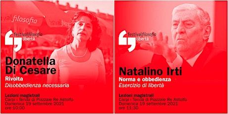 ff21 | DI CESARE - IRTI | Carpi, Tenda di Piazzale Re Astolfo biglietti