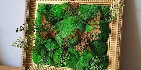 ATELIER DIY : Cadre végétal / BHV MARAIS x Platan billets