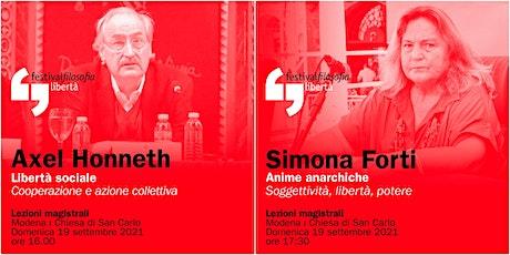 ff21   HONNETH - FORTI   Modena, Chiesa San Carlo biglietti
