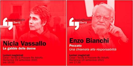 ff21 | VASSALLO - BIANCHI | Carpi, Tenda di Piazzale Re Astolfo biglietti