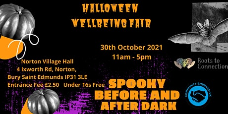 Halloween Wellbeing Event 30th October 20201 Pay £2.50 Entry For Charity tickets