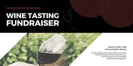 Wine Tasting Fundraiser for Leadership Niagara! tickets