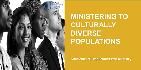 NTCG - Ministering to Culturally Diverse Populations tickets