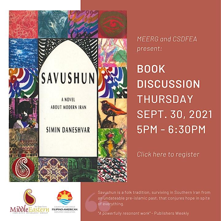 MEERG & CSDFEA Book Discussion: Savushun image