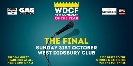 WDCF New Comedian of the Year Competition - THE FINAL! tickets