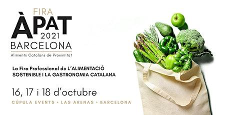 Fira ÀPAT Barcelona 2021 entradas