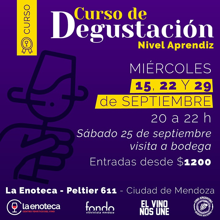 Imagen de Curso de Degustación - Nivel APRENDIZ