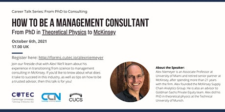 How to be a Management Consultant in McKinsey entradas