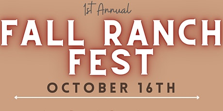 Fall Ranch Fest 2021 tickets