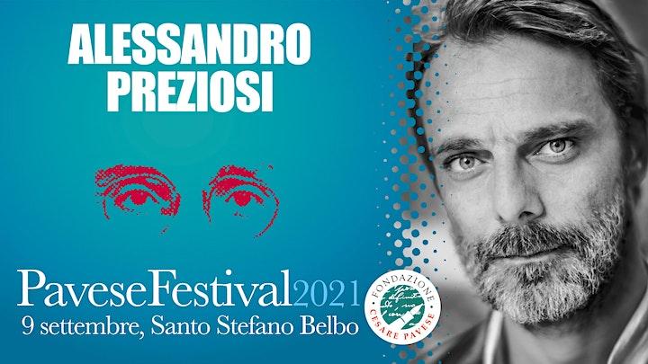 Immagine Pavese Festival 2021 - Alessandro Preziosi: La luna e i falò