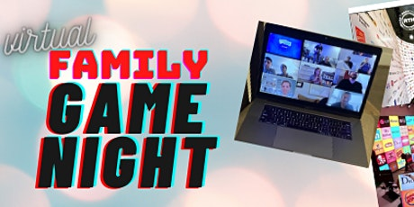Virtual Family Game Night tickets