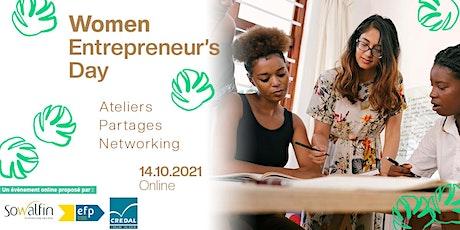 Women Entrepreneur's Day 2021 billets
