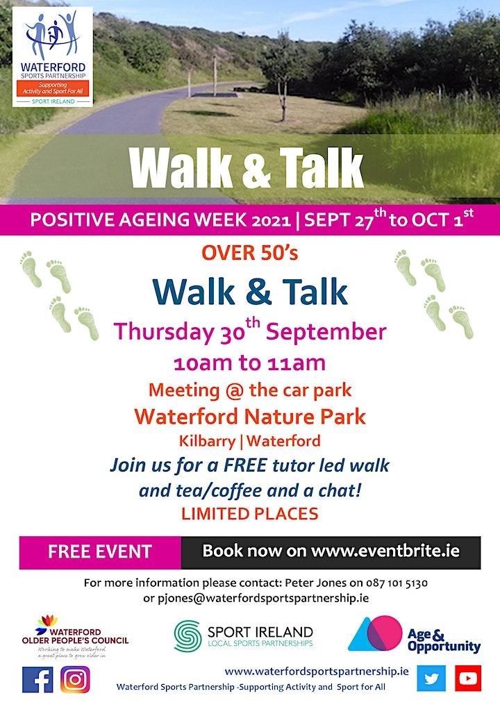 Positive Ageing Week - Walk & Talk Waterford image