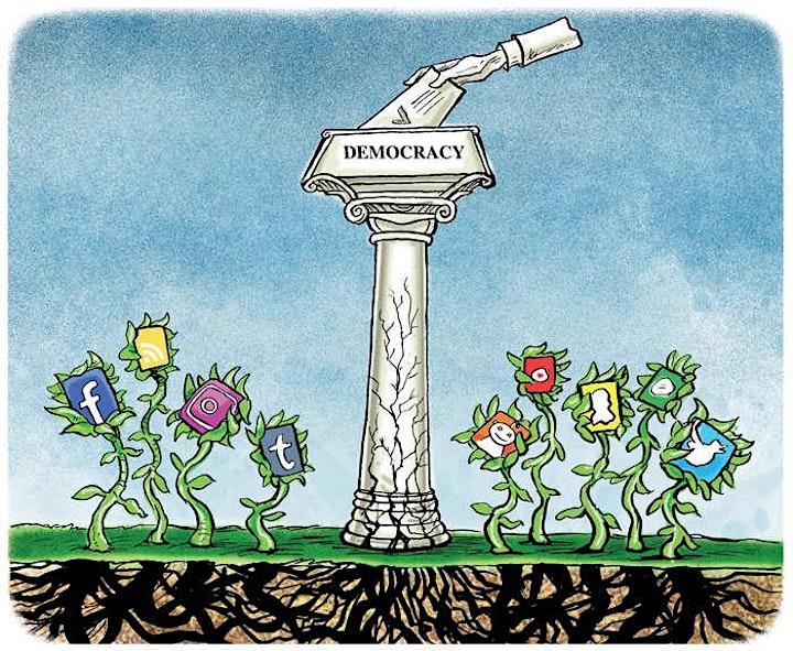 Imagem do evento Filosofia Política: Democracia, ódio e amor.