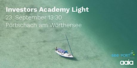 Investors Academy Light Kärnten Tickets
