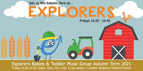 Explorers Music Group for babies & toddlers: Autumn Term 2021 tickets