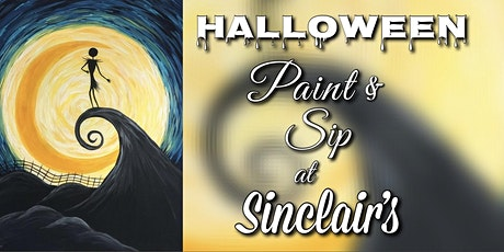 Halloween Paint & Sip at Sinclair's tickets