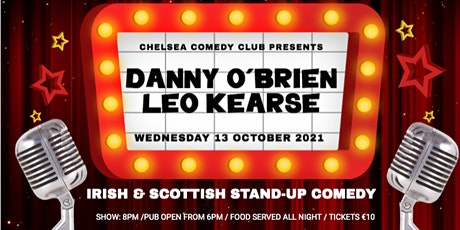 Irish & Scottish stand-up comedy night in Linz Tickets