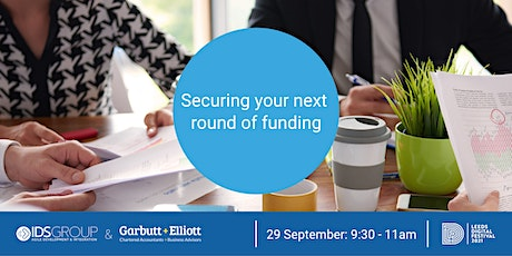 Securing your next round of funding tickets