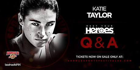 *SUNDAY* Katie Taylor 'Meet Your Heroes'  HALL 9- NEC BIRMINGHAM tickets