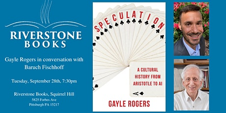 Pitt professor Gayle Rogers  on his new cultural history, SPECULATION tickets