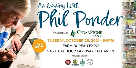 An Evening with Phil Ponder tickets