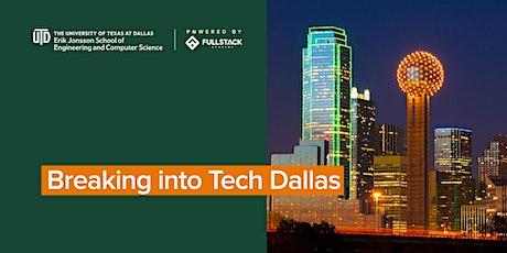 Breaking into Tech in Dallas tickets