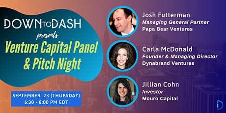 Venture Capital Panel and Pitch Night tickets