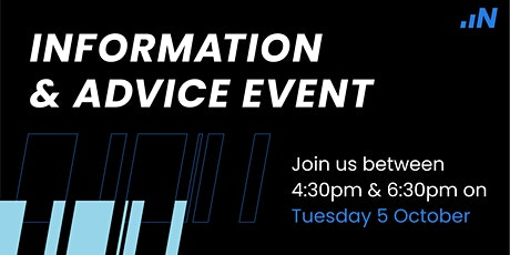 Information & Advice -  05 October 2021 tickets